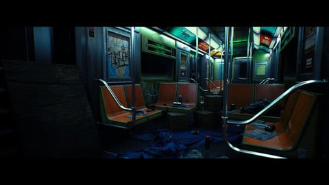 New York Train Asset Pack