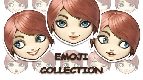 Emoji woman faces