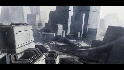 Sci-fi Environment PSD