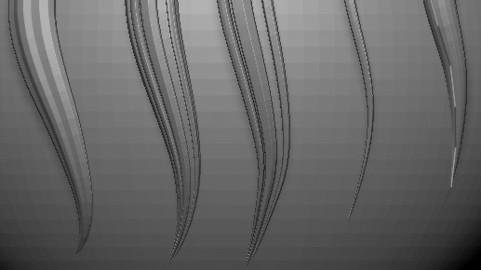 Zbrush Hair Brush Tutorial