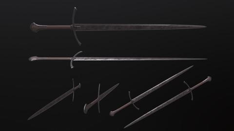 Sword Lowpoly 3D model