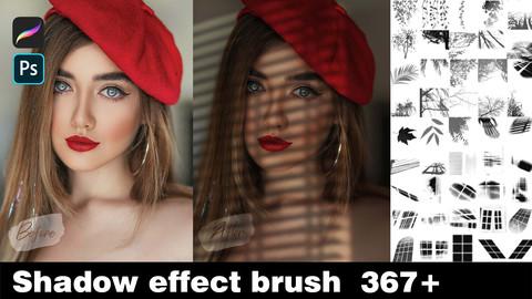 Procreate&Photoshop Shadow effect brush  *367
