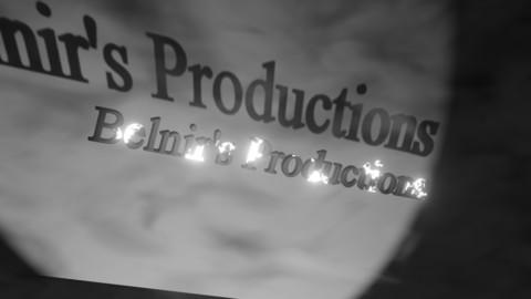 Retro Horror Logo animation