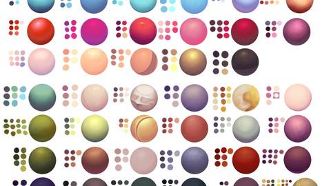 Color Palette 35 for Clip Studio Paint and Ex