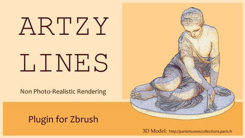 ARTZY - LINES Plugin for ZBrush Windows x64