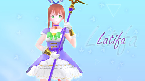 Latifa PBR Original - VRChat/Game Ready