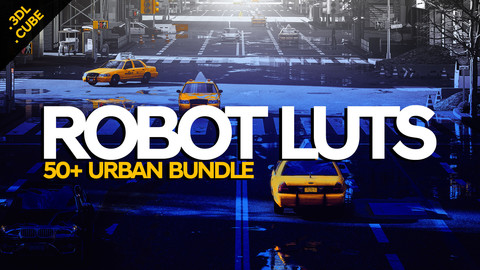 ROBOT LUTS Urban 50+ Bundle
