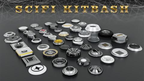 Sci-Fi Kitbash