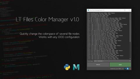 LT Files Color Manager