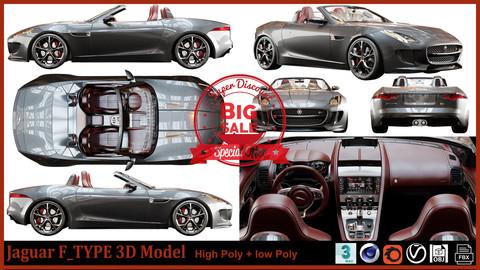 Jaguar F_type 3D Model
