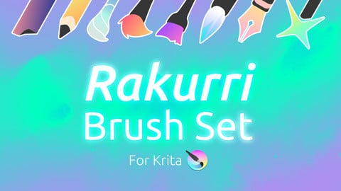 Rakurri Brush Set V1 for Krita