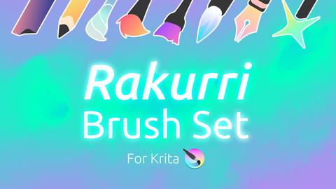 Rakurri Brush Set V1 for Krita