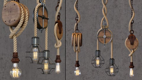 rope pendant light 2