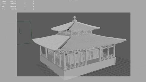 Oriental ancient architecture