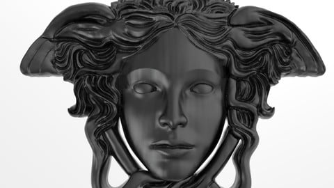 Versace Medusa Pendant 3d model