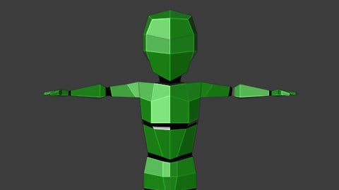Low-Poly-Human-Basemesh-Rigged
