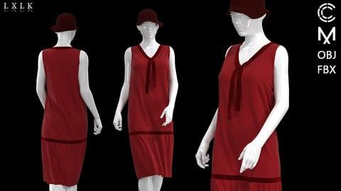 Red Velvet Modern Girl Outfit