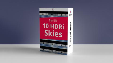10 Hdri Skies Bundle - Pack