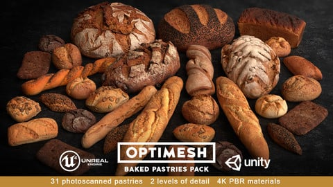 Baked Pastries Pack