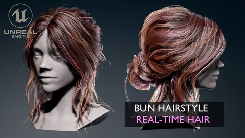 Real-Time Bun Hairstyle