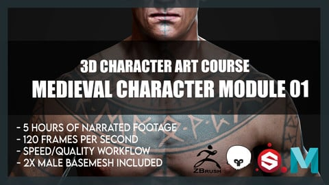 Medieval Character Module 01 - Body