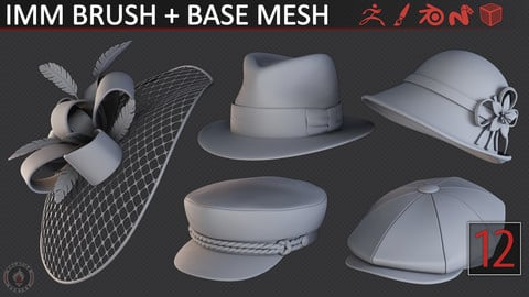 STYLIZED HATS/CAPS