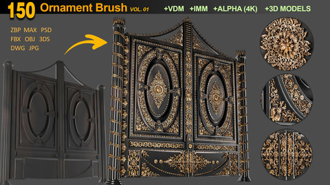 150 Ornament Brush VOL 01