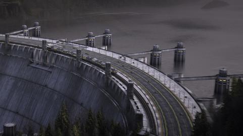 Free Water dam | C4D | Octane | Render-ready