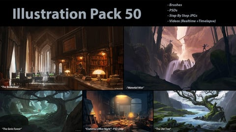 Illustration Pack 50 (not a stock asset)