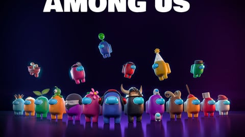 Among Us 3D pack