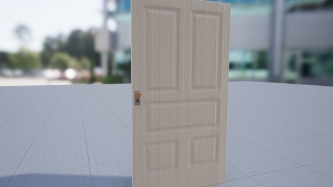 Unreal Engine 4 Doors Game Ready Assets (4.25.3) & All 3D Files
