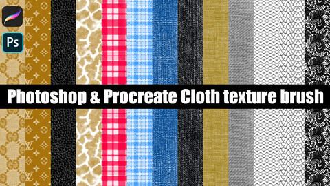 Photoshop&Photoshop Cloth texture brush