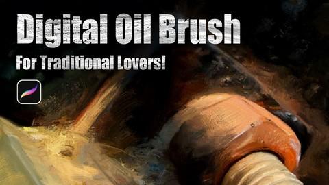 Digital Oil Brush For Traditional lovers
