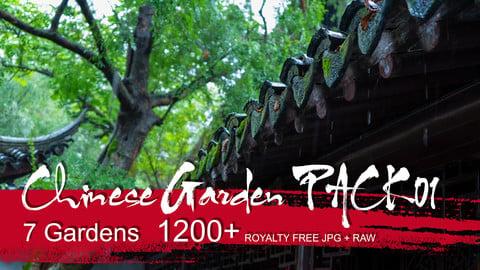 Chinese Garden - PACK01