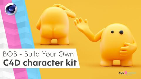 Bob Character kit - Cinema 4D