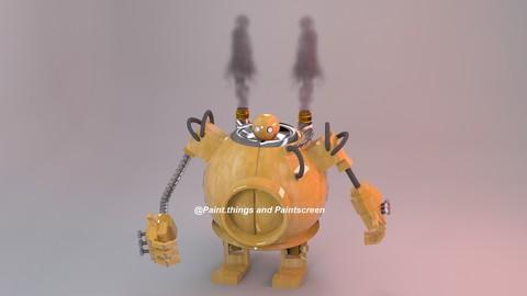 Character 3D Robot - Blitz!