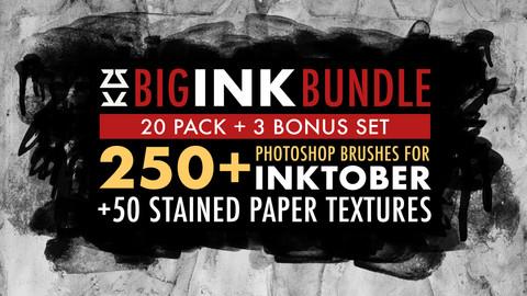 Big Ink Bundle for Inktober 2020