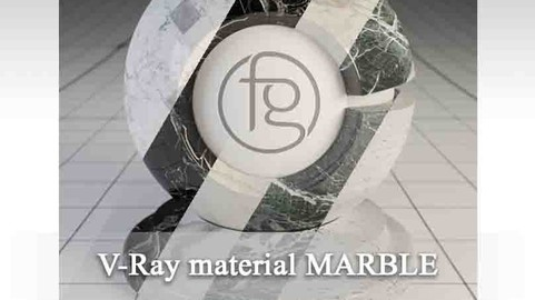 VRay Material Marble