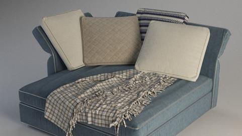 Models 3D - Minotti sofà
