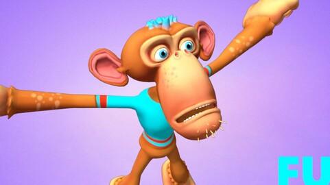 Monkey Animated