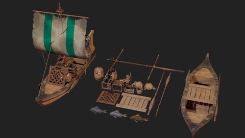 Sea Boat Asset