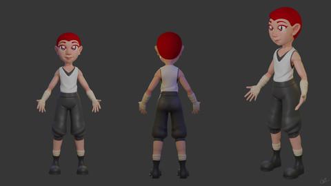 3D Character 03