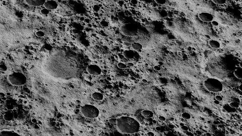 Blender Moon Shader Setups with 8K Textures
