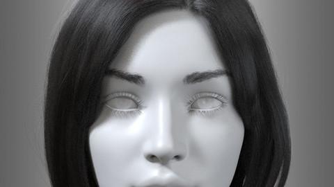 Hair, Eyebrow, Eyelash (Female) - ALEMBIC