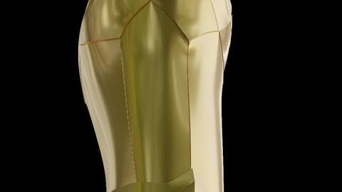Wonder Woman Golden Eagle Armor Bracelets for Cosplay 3D print model