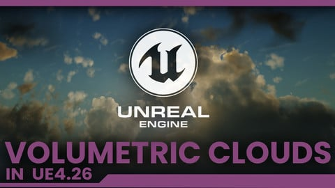 Dinusty: Volumetric Clouds in UE4 Tutorial Content