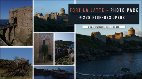 CASTLE / FORT LA LATTE - PHOTOPACK