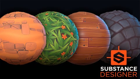 Stylized materials creation with Substance Designer