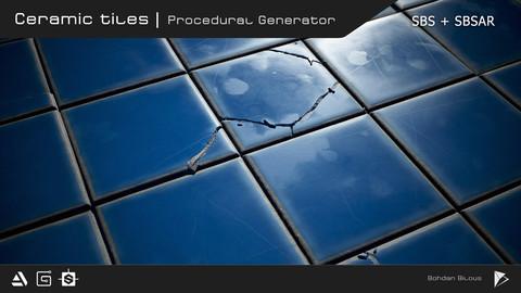 Ceramic tiles | Procedural generator | SBS & SBSAR