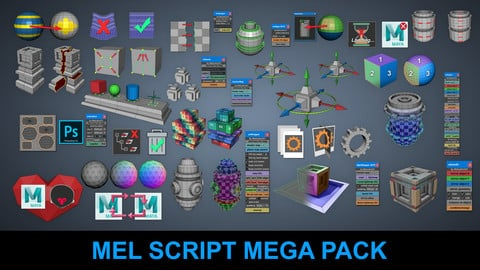 Mel Script Mega Pack at a Discounted Price You Save $331